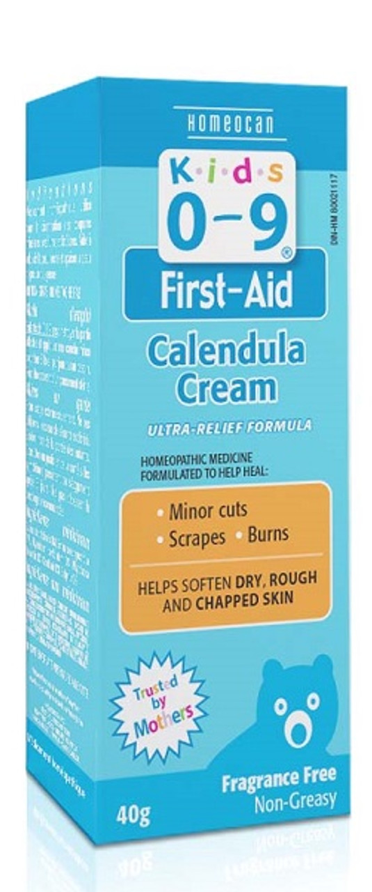 Homeocan Kids 0 - 9 Calendula + Cream 40g
