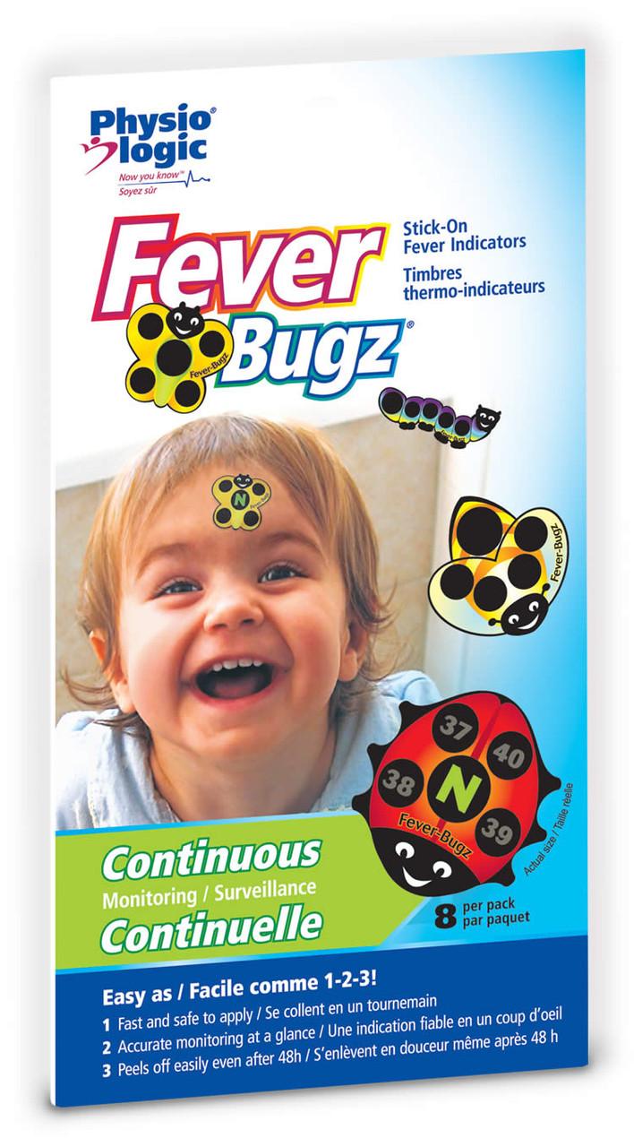 Amg Medical Inc Fever-bugz (stick-on Fever Indicators) 8stickers
