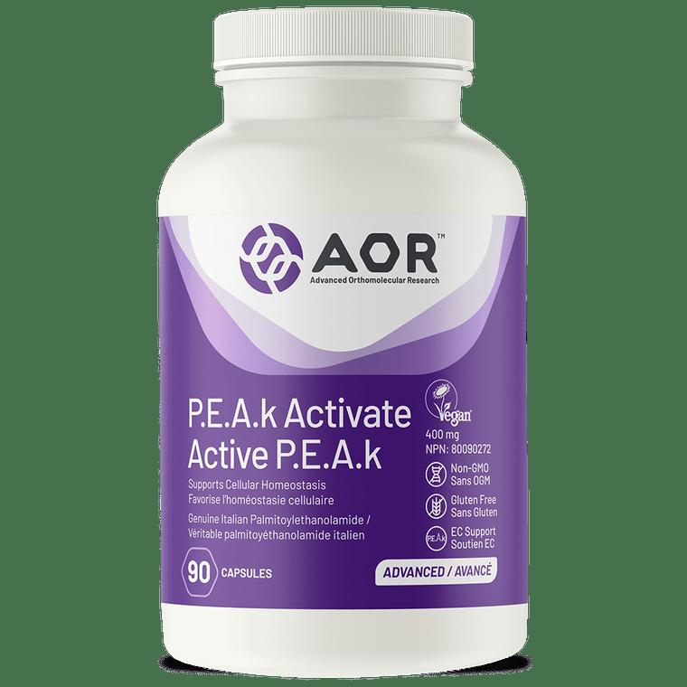 AOR P.E.A.k Activate 400 mg 90caps
