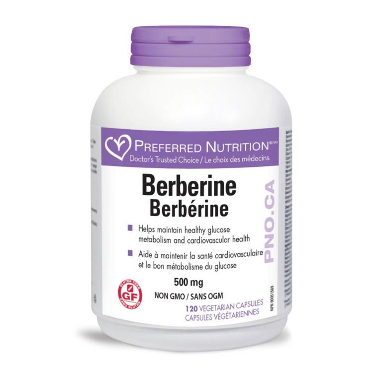 Preferred Nutrition Berberine 500mg