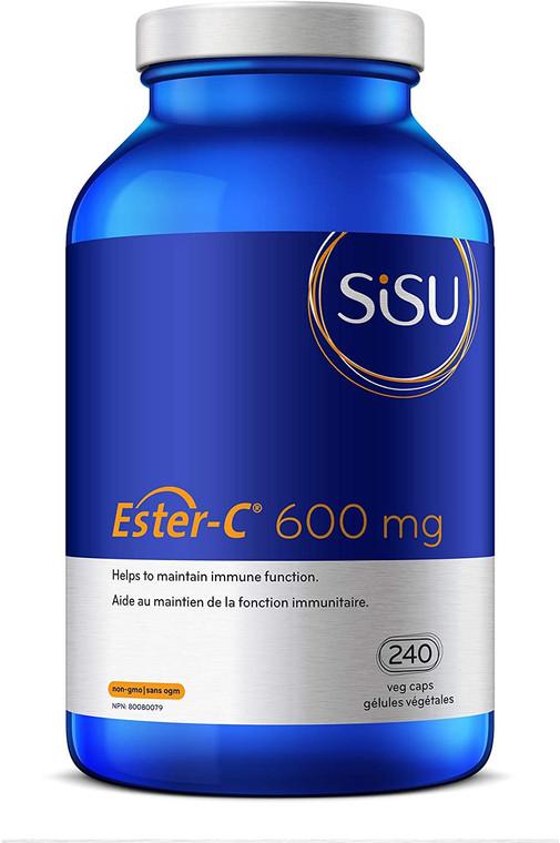 Sisu Ester-C 600mg 240vcaps