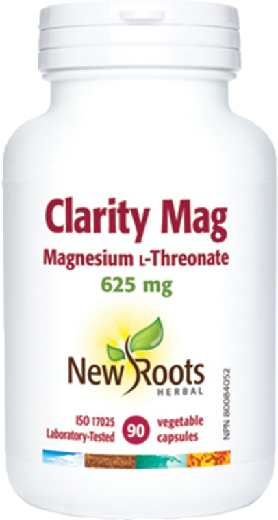 New Roots Clarity Mag 90vcaps