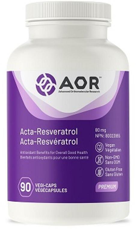 AOR Acta Resveratrol 80mg 90vcaps