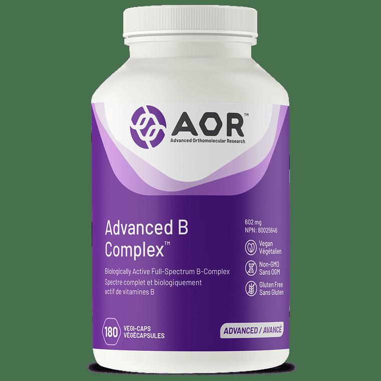 AOR Advanced B Complex 180vcaps
