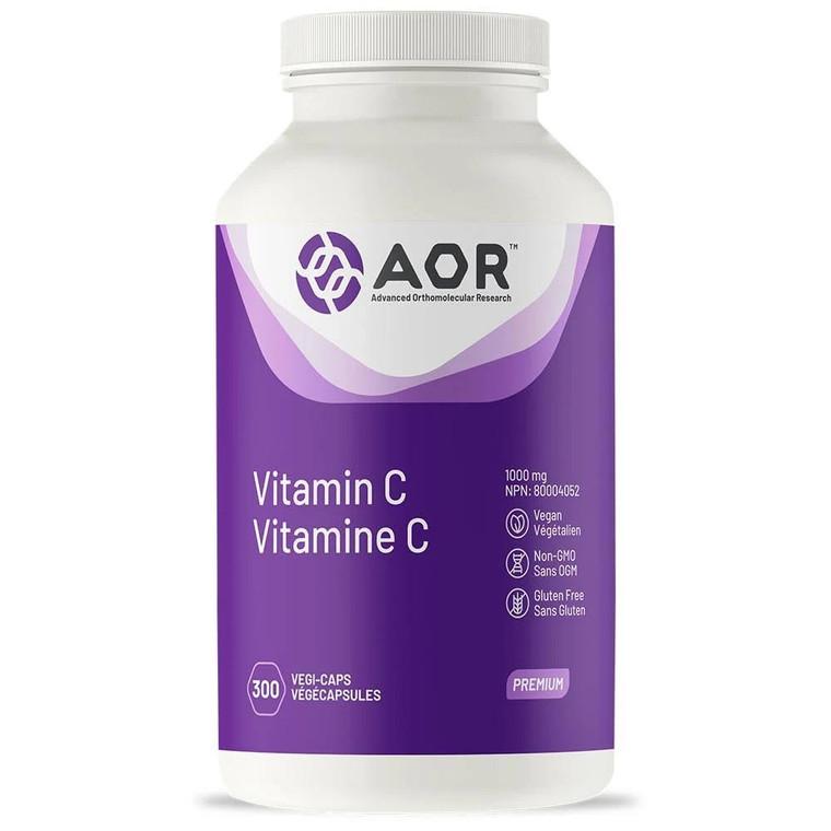 AOR Vitamin C 1000mg 300vcaps