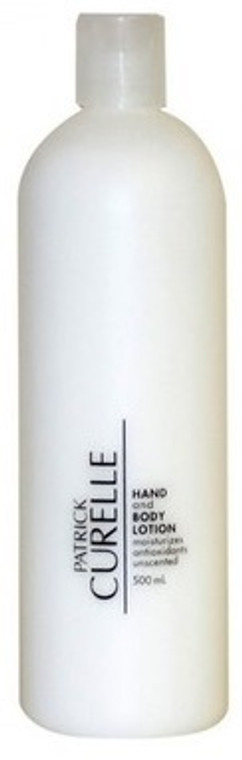 Curelle Hand Body Lotion Unscented 500ml