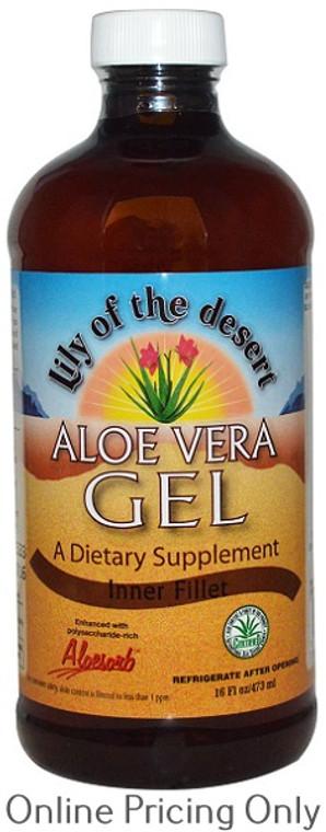 Lily of the Desert Aloe Vera Gel Inner Filet 473ml