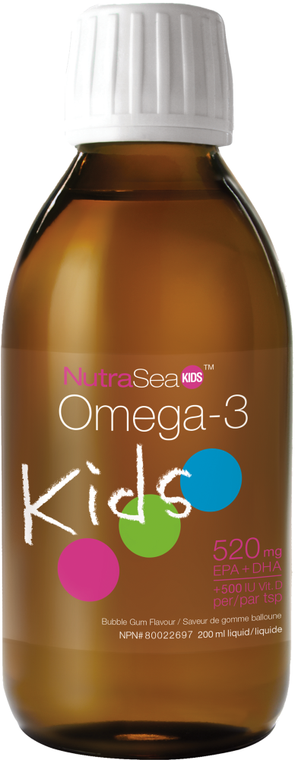 NutraSea Kids Omega-3 - Bubblegum Flavour 200ml