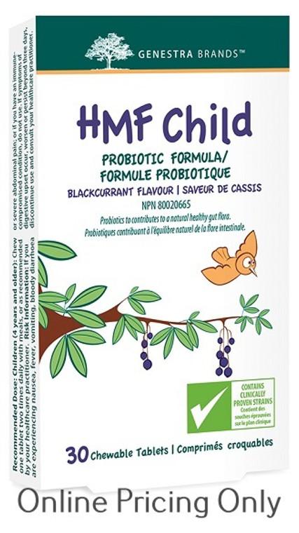 Genestra Brands HMF Child 30chewables