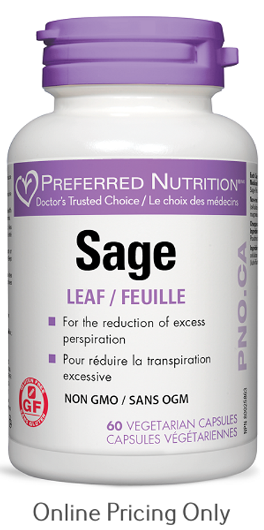 WomenSense Sage Leaf 60vcaps