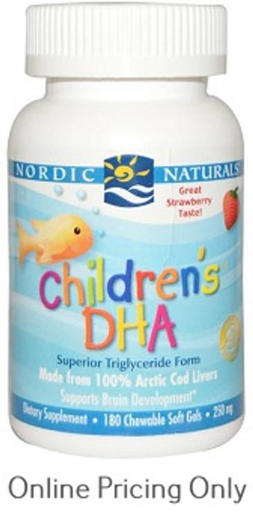 Nordic Naturals Children DHA Strawberry 180sg