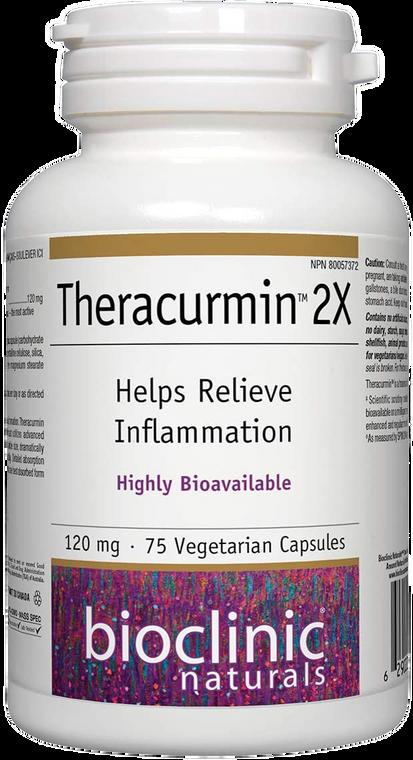 BioClinic Naturals Theracurmin 2x120mg 75vcaps