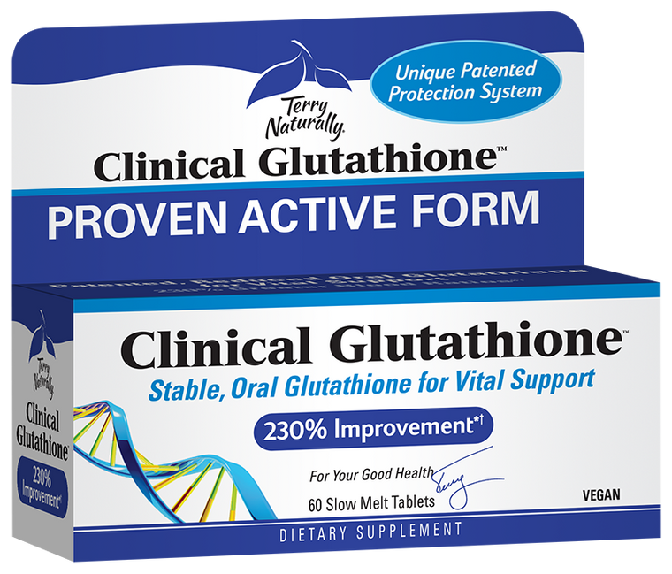 Terry Naturally Clinical Glutathione 60 Sublingual tabs