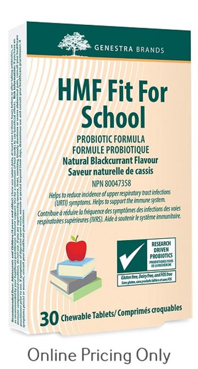 Genestra Brands HMF Fit for School Chewable 30tabs