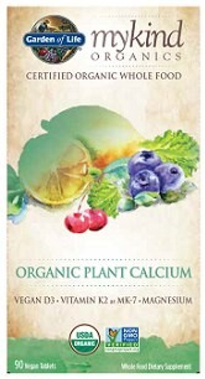 ORGANICS ORGANIC PLANT CALCIUM 90vtabs