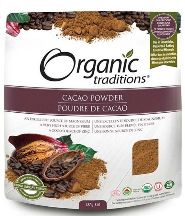 Organic Traditions Cacao Powder 227g