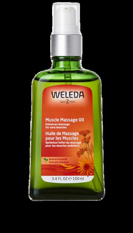 Weleda Arnica Muscle Massage Oil 100ml
