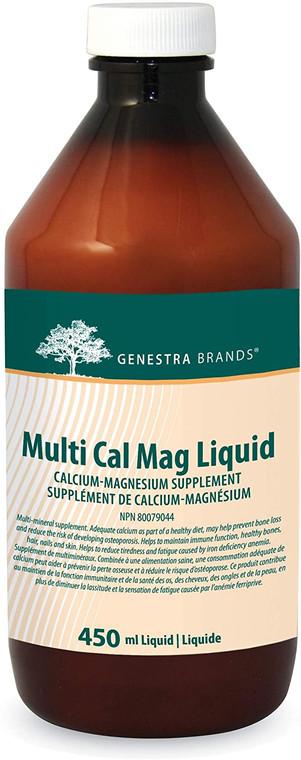 Genestra Brands Multi Cal Mag Liquid 450ml