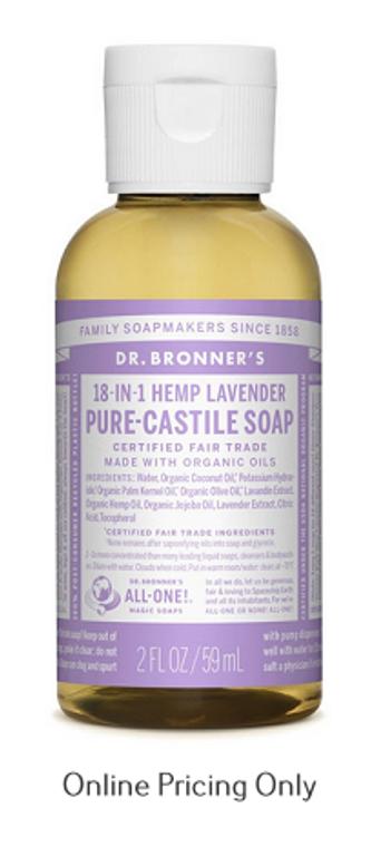 Dr. Bronners Lavender Soap 59ml