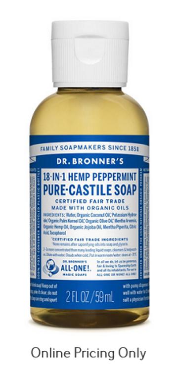 Dr. Bonner's peppermint Soap 59ml