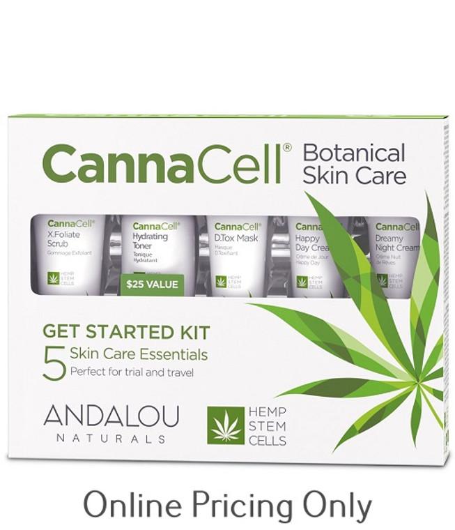 Andalou Naturals CannaCell Starter Kit 5pcs