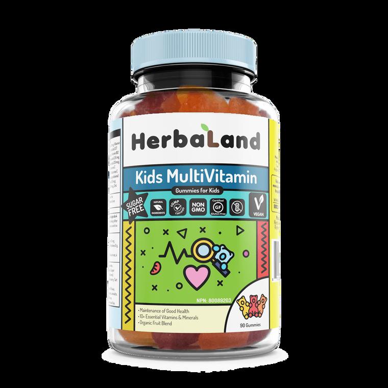HerbaLand Kids MultiVitamin 90gummies