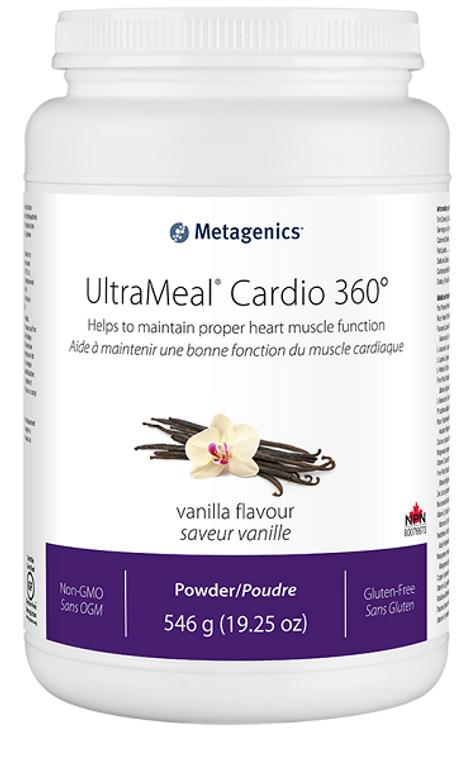 Metagenics Ultrameal Cardio 360 Vanilla 546g