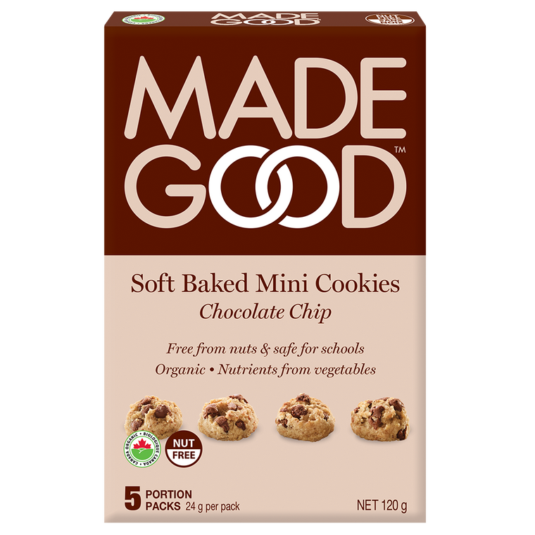 Made Good Chocolate Chip Soft Baked Mini Cookies 5 x 24g