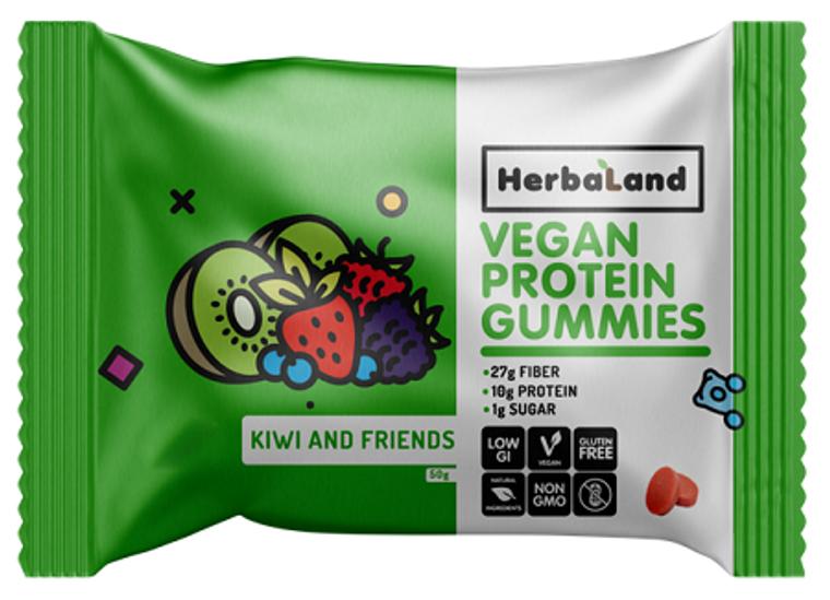 Herbaland Kiwi and Friends Gummies 50g