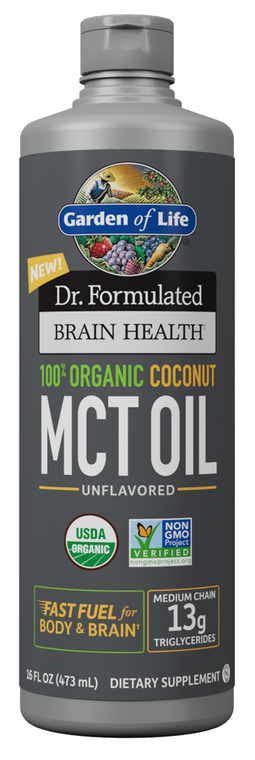 Garden of Life Dr. Formulated Organic MCT Oil 473ml