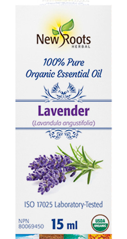 New Roots Lavender Essential Oil 15ml