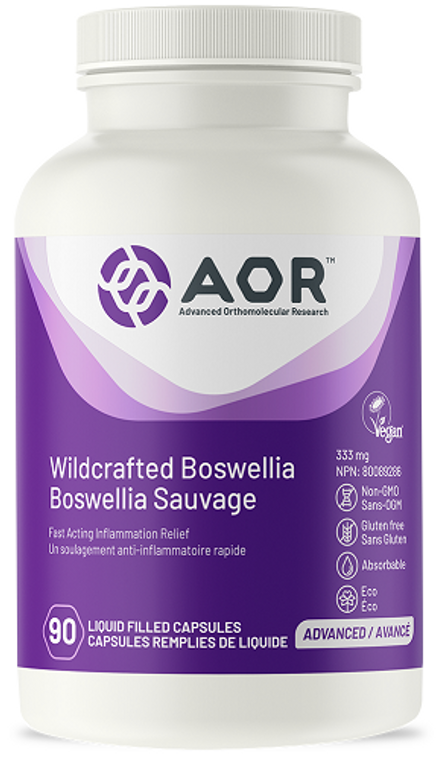 AOR Boswellia Wildcrafted 90caps
