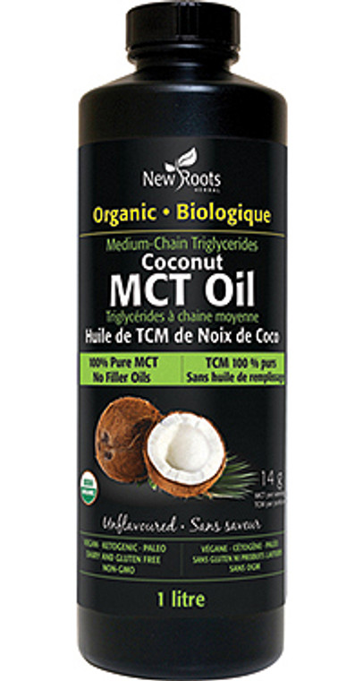 New Roots Org Coconut MCT Oil 1L