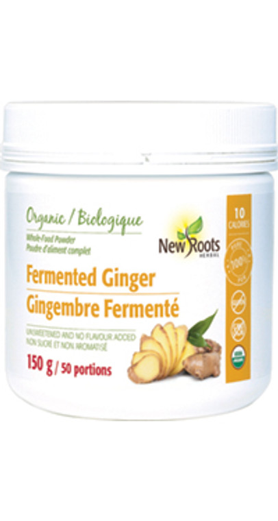 New Roots Fermented Organic Ginger 150g