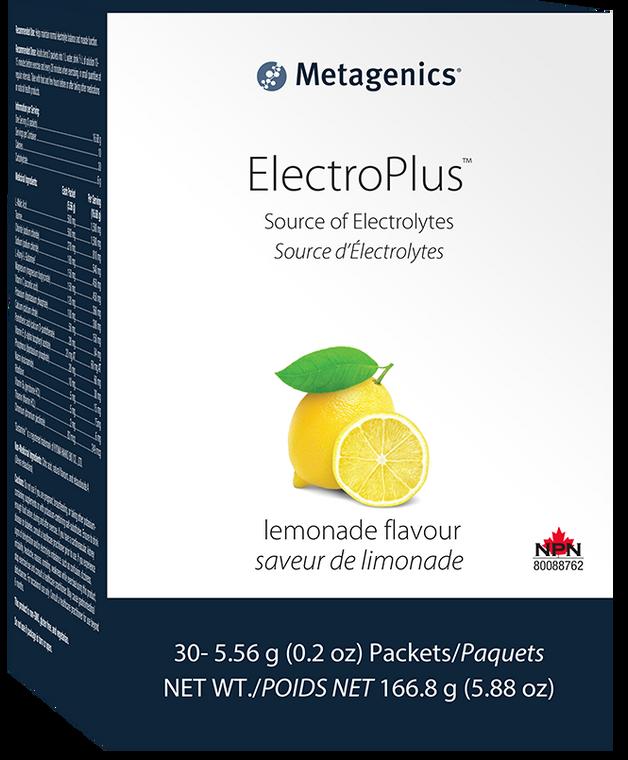 METAGENICS ELECTRO PLUS LEMONADE 30pack