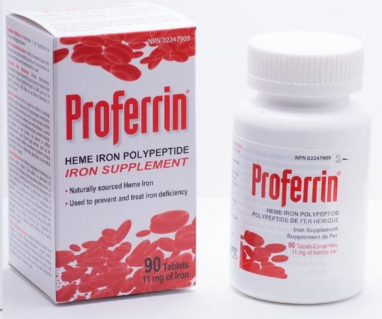 Medical Futures Proferrin Iron Supplement 11mg 90tabs