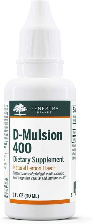 Genestra Brand D-Mulsion 400 30ml