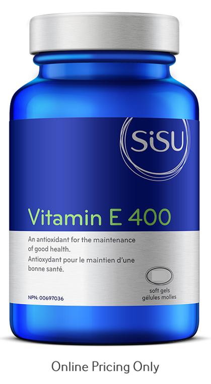 Sisu Vitamin E 400IU 120sg