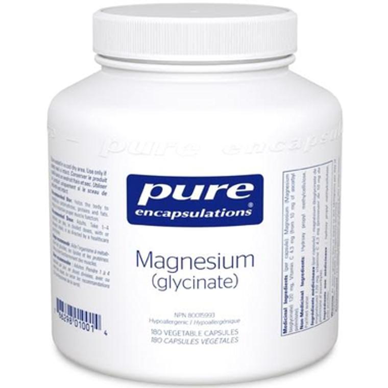 Pure Encapsulations Magnesium Glycinate 180vcaps