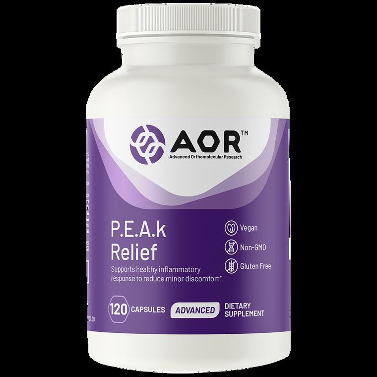 AOR P.E.A.k Pain Relief 120caps