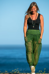 Dreamer Pant in Leaf Breeze