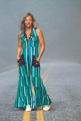 Cascade Jumpsuit in US Blues