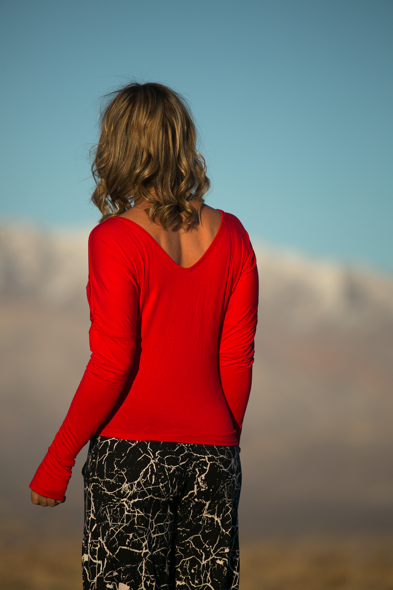 Starr Top in Red Modal