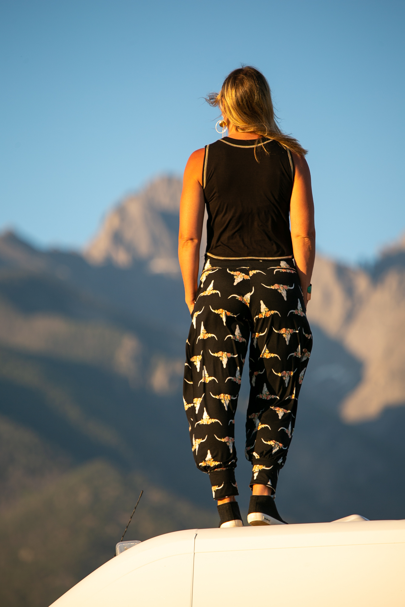 Dreamer Pant in Black Buffalo