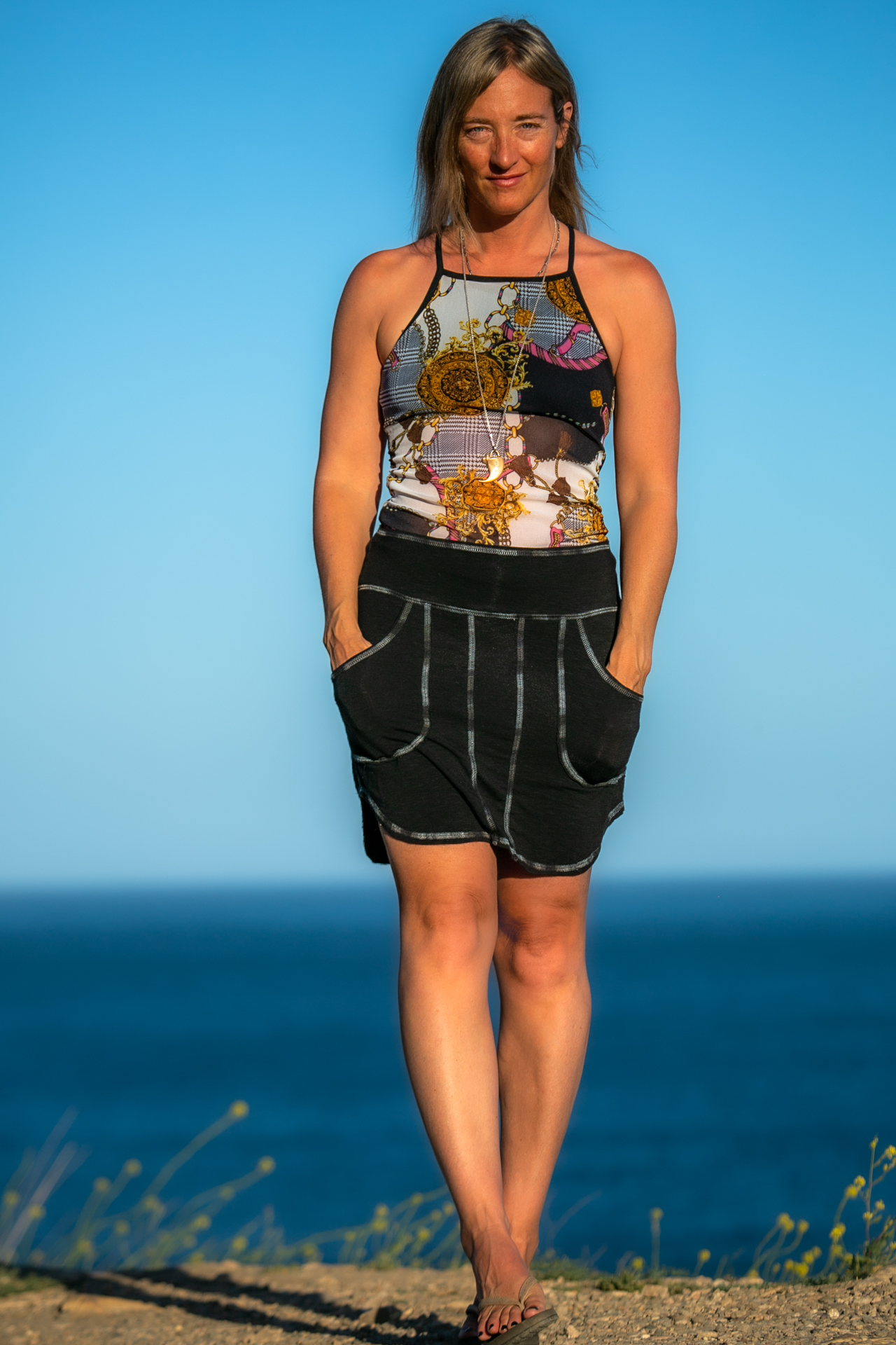 Warrior Tank in Gucci Moment Mesh