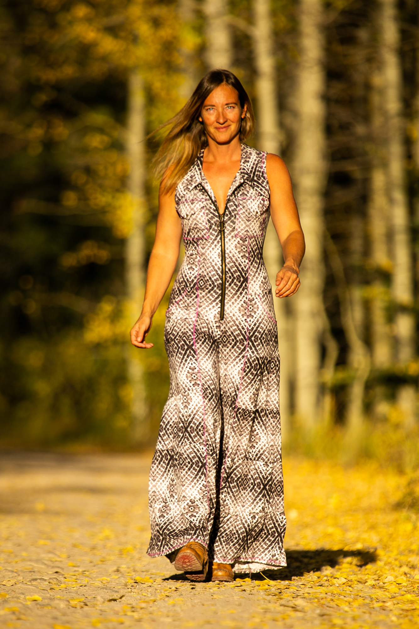 The Cascade Jumpsuit in Lady Stardust