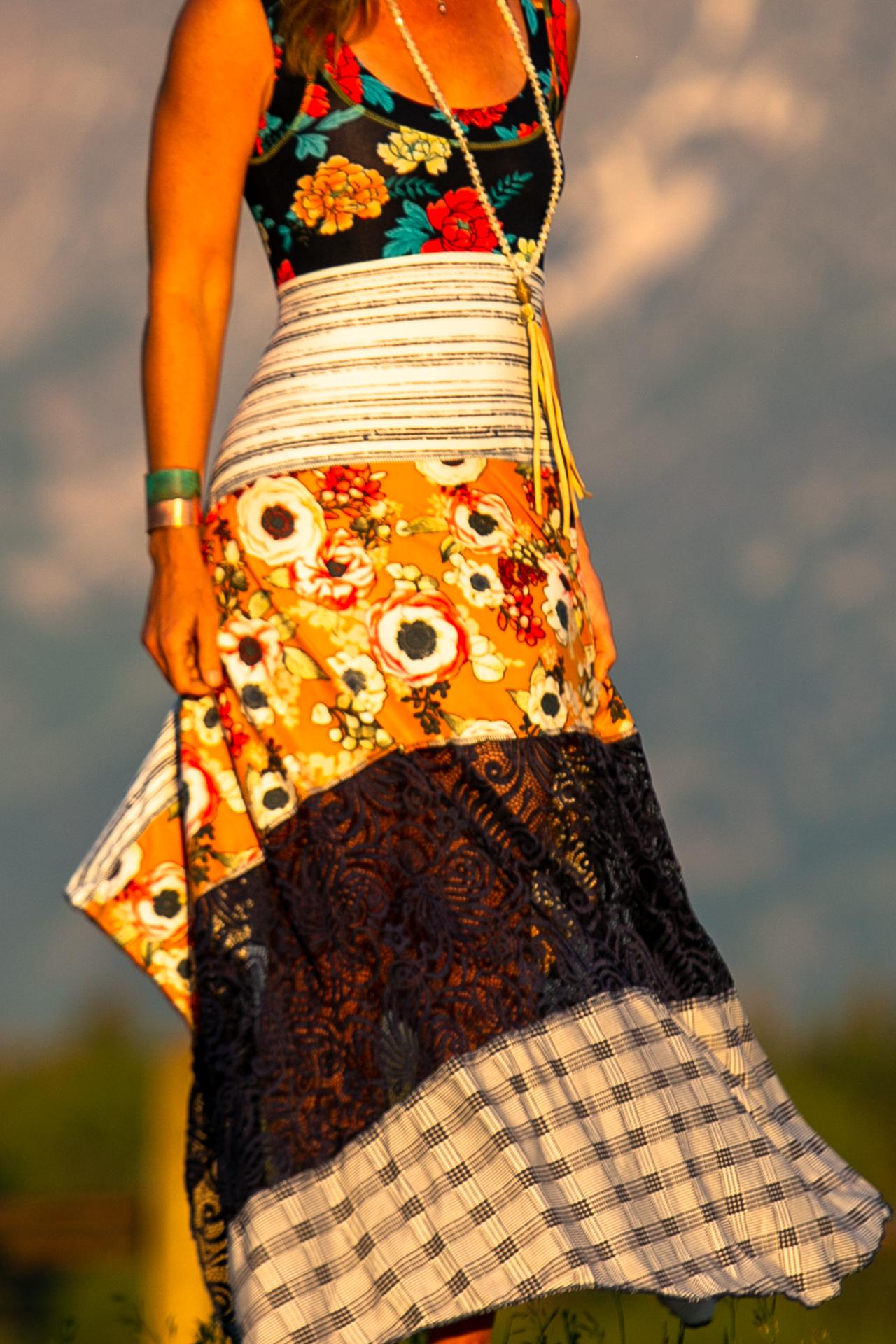 Malibu Dress in Sitting on Top of the World