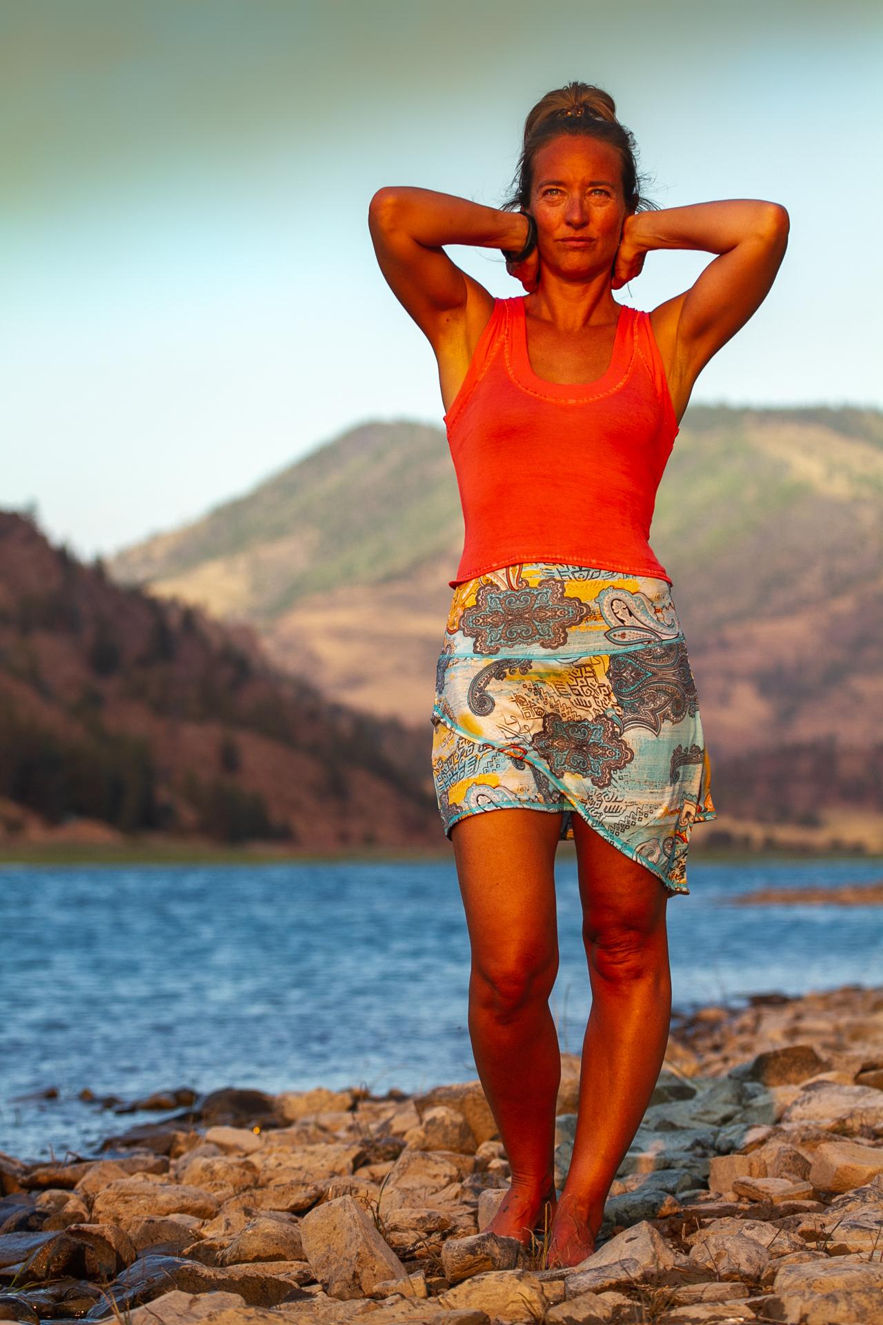 Dame Skirt in Morning Dew