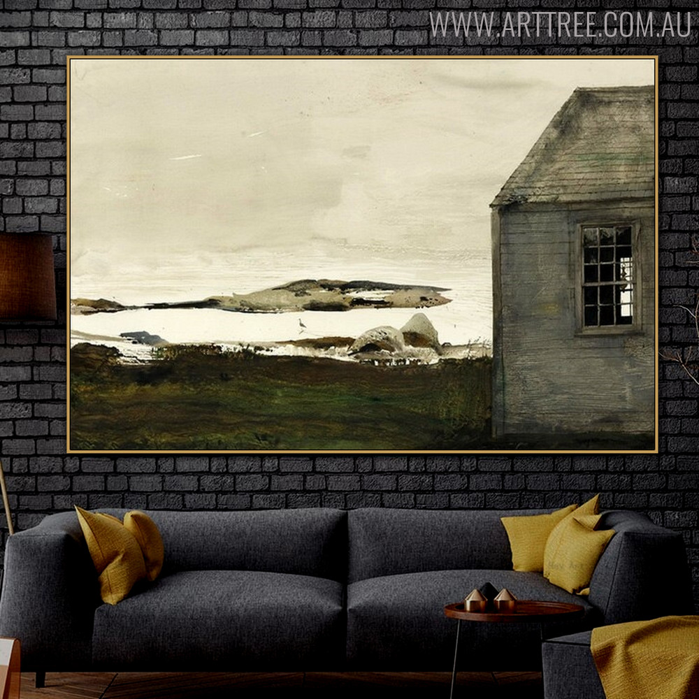 Sea Level Famous Artists Still Life Landscape Scandinavian Picture Print for Living Room Adornment