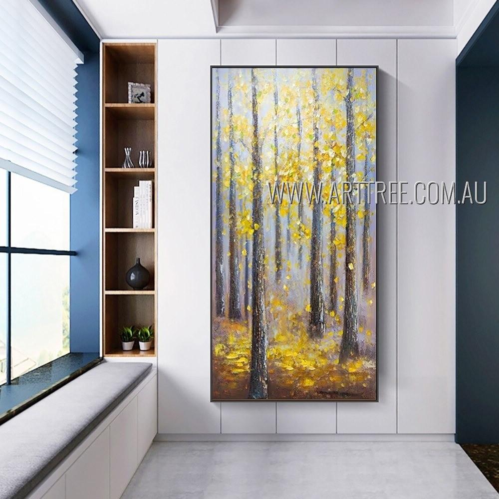 Ranger Landscape Modern Heavy Texture Artist Handmade Nature Wall Art For Room Décor